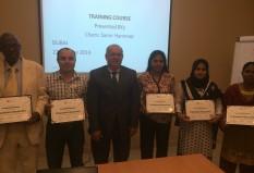 Receiving of Certificate